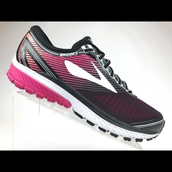 c02e4c9e71d Brooks Shoes - Brooks Ghost Running Shoes Black Pink women 11.5